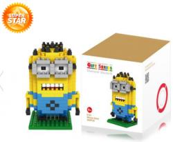 everbuying.net: Minion Building Block – Minion Figur aus 260 Teilen für 2,71€