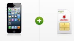 iPhone 5 (16 GB) für einmalig. 49 EUR mit Vodafone D2 Vertrag, monatl. nur 9,99 EUR @modeo.de