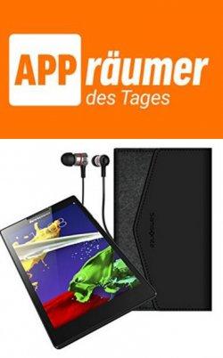 Lenovo Tab 2 Bundle mit Kopfhörer und Tasche für nur 66,- € statt der regulären 129,- €