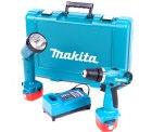 Makita 6271DWPLE Akku-Bohrschrauber Set + Akku-Lampe für 88,00 € (107,00 € Idealo) @Notebooksbilliger