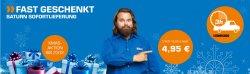 MediaMarkt (14,95€ )/Saturn : Lieferung innerhalb 3 Stunden statt für 14,95€ für nur 4,95€