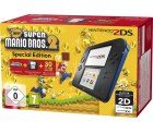 Nintendo 2DS inklusive New Super Mario Bros 2 für 79,00 € (99,00 € Idealo) @Real