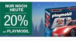 Nur heute noch: 20% Rabatt auf Playmobil + 10% Extra-Gutschein bei der Galeria Kaufhof [gute IDealopreise)