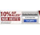 10% Rabatt auf (fast) alles mit Gutscheincode ohne Mindestbestellwert @Plus.de