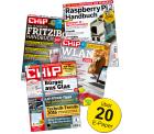 2 x das aktuelle CHIP Magazin + CHIP Specials (z.B. das WLAN Handbuch) kostenlos als E-Paper @Chip.de