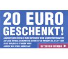 20 € Gutschein ohne MBW für Newsletter-Anmeldung (nur 48 Std. gültig!) @SC24.com
