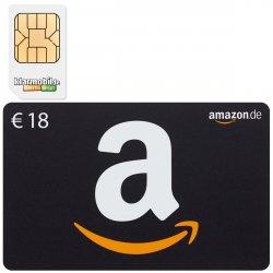 36,00 Euro Amazon-Gutscheine für 3,90 Euro durch zwei SIM-Karten von Klarmobil