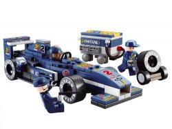 Amazon: Sluban Formula 1 Bau- und Konstruktionsspielzeug für nur 6,62 Euro statt 13,85 Euro bei Idealo