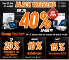 Black Weekend @Notebooksbilliger z.B. Intenso 64GB Speed Line USB 3.0 Stick für 11,32 € (19,79 € Idealo)
