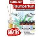 Duftölset-Raumparfum mit 8 Aromen & 48 Stäbchen GRATIS @pearl, nur VSK