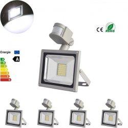 Ebay: 5 Stück 50W SMD LED Fluter mit Bewegungsmelder für nur 18,99 Euro statt 58,45 Euro bei Idealo