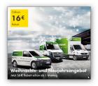 Europcar: 16€ Rabatt-Gutschein
