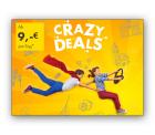 Europcar: Crazy Deals mit bis 20 % Rabatt – Mietwagen ab 9 €/ pro Tag
