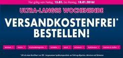Karstadt: Alles Versandkostenfrei + 30 Prozent Rabatt auf bereits reduzierte Bekleidung und Schuhe mit Gutschein