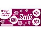 Klingel: 10 Euro Gutschein für alles + bis zu 60 Prozent Rabatt im Winterschlußverkauf