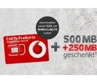 Kostenlose Prepaid-Karte für 0€ ODER mit 750MB LTE-Flat + 200Min. in alle Netze für 9,99€ @vodafone
