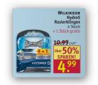 [Lokal ab Montag] 4+1 Wilkinson Hydro 5 Rasierklingen für 4,49€ dank 10% Coupon [idealo 9,25€] @Rossmann