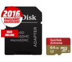Media Markt: Sandisk Extreme microSDXC 64GB für 24€ (PVG: 29€)