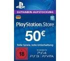 PlayStation Store 50,- Guthaben für nur 45,- € [PS4, PS3, PS Vita PSN Code – deutsches Konto] @ Amazon