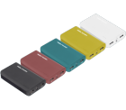 REALPOWER PB-6K ( 6000 mAh ) Powerbank Color Edition für 9,00 € (19,40 € Idealo) @Media Markt