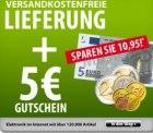 Voelkner: 5 Euro Gutschein (bestellwert 34,95 Euro) + versandkostenfrei