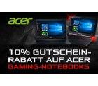 10% Rabatt auf alle Gaming-Notebooks der Marke Acer mit Gutscheincode @Comtech