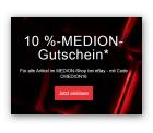 10% Rabatt bei PayPal-Zahlung auf alle Medion-Shop Artikel @eBay