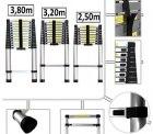 [Allyouneed Wochenangebot] Teleskopleiter / Mehrzweckleiter, Länge: 2.5m, 3.2m oder 3.8m ab 44,95€