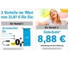 conrad: 2 Gutscheine mit 21,87€ Vorteil