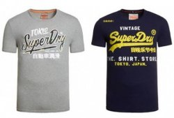 eBay Aktion: 3 Superdry Shirts kaufen und nur 2 bezahlen (je 14,95€)