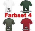Fruit of the Loom T-Shirts im 5er Pack (verschiedene Farben) mit Gutscheincode  für 4,90 € inkl. Versand @Billigarena