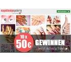 ND24 bis zu 80% Sale z.b. Thermo Effektgel verschiede Farben für je 1,90€ statt 9,90€ [idealo 9,45€]