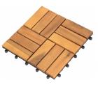 POCO.de: Holzfliese Akazie 10er Set für nur 1,99 Euro statt über 20 Euro bei Idealo