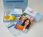 Rauchfrei – Startpaket mit Pfefferminzpastillen, Relax-Ball und Broschüren kostenlos bestellen
