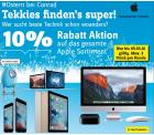10% Rabatt auf alle Apple-Produkte mit Gutscheincode @Conrad