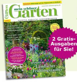 """2 ausgaben der zeitschrift """"mein schöner garten"""" gratis durch, Garten und bauen"""