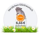 6,66 € Gutschein mit 39,99 € MBW @Digitalo
