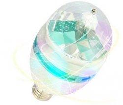 6,99 € ~ 8,99 € (5 € Rabatt) DBPOWER RGB 3W 2 IN 1 LED Lichteffektlampe