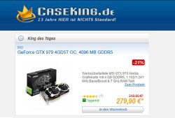 "Neues Liveshopping-Angebot: Caseking ""King des Tages"""