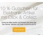 eBay: 10% Rabatt für Click & Collect Artikel (Saturn, Media Markt, GRAVIS, Conrad und Cyberport) dank Rabatt-Gutschein