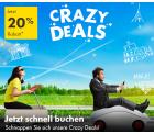 Europcar: Crazy Deals mit 20% Rabatt auf Buchungen in 8 Ländern in Europa