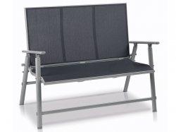 FLORABEST Aluminium-Leichtrahmen Gartenbank (faltbar) für 69,99 € (125,99 € Idealo) @Lidl