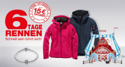 Galeria Kaufhof: 6 Tage Rennen + 15 Euro Gutschein