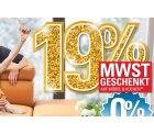 Hoeffner.de: 19% MWST Geschenkt auf Möbel & Küchen