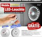 Mobile LED-Leuchte(High Power LED´s), GRATIS, nur VSK @pearl.de