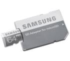 SAMSUNG Micro-SDXC 64 GB mit Adapter für 27,99 € (34,85 € Idealo) @MediaMarkt