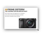 Saturn Oster Angebote z.b. die CANON EOS 1200D mit Tasche + Speicherkarte für 294€