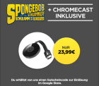 Wuaki: Google Chromecast 2 für nur 23,99 Euro statt 37 Euro bei Idealo + 1 Monat Sky Online gratis