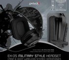Zengoes: Gioteck EX-05 Military Style Headset + Ammo Clip Ladestation für nur 17,99 Euro + Versand statt 44,98 Euro bei Idealo