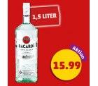 BACARDI Carta Blanca Superior White Rum (37,5%) 1,5-Liter-Flasche für 15,99 € (34,90 € Idealo) @Penny (Lokal)